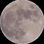 Вид Луны из объектива видеокамеры