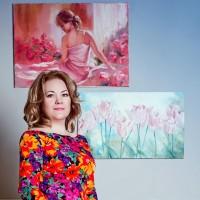 Арина Оленченко — арт терапевт, художник