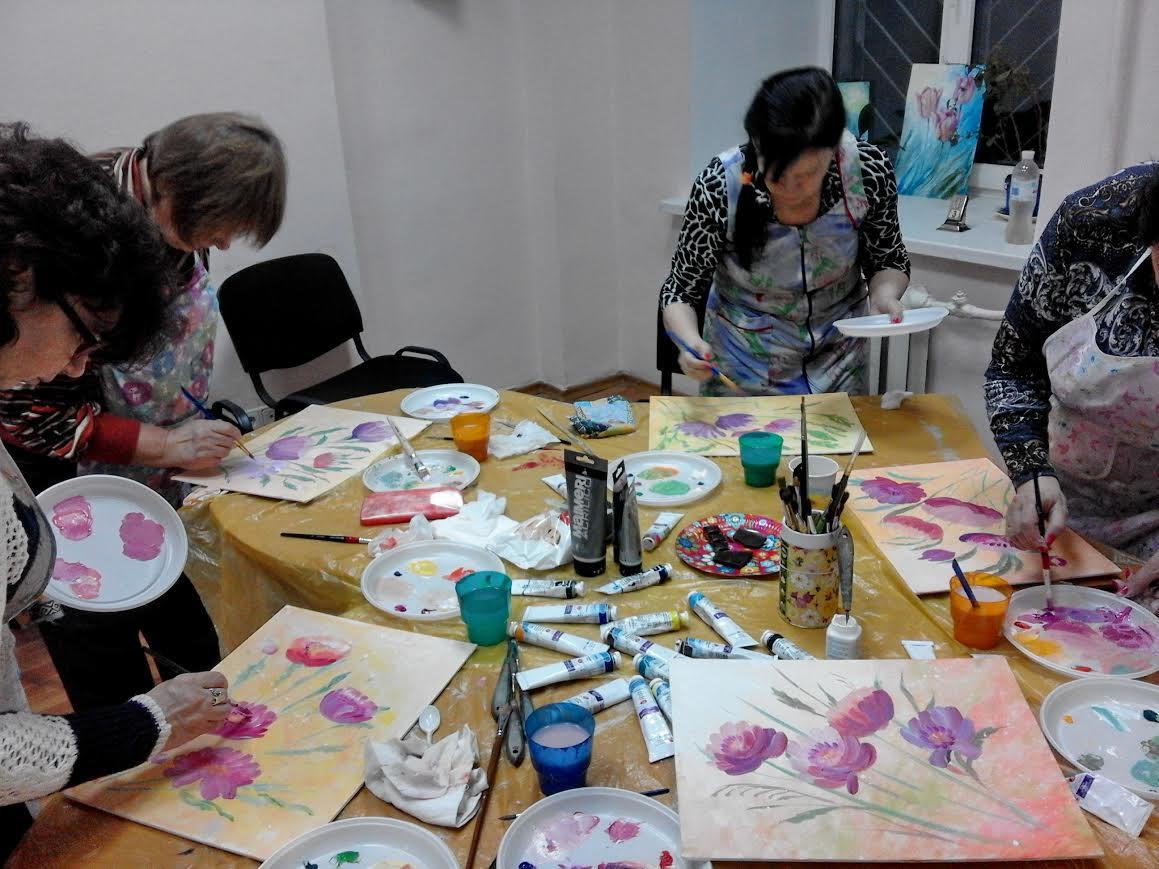 Мастер классы живописи