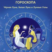 Кармические показатели в гороскопе:Черная Луна, Белая Луна и Лунные Узлы